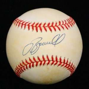 Jeff Bagwell Signed Baseball   Onl Psa dna #p95875   Autographed