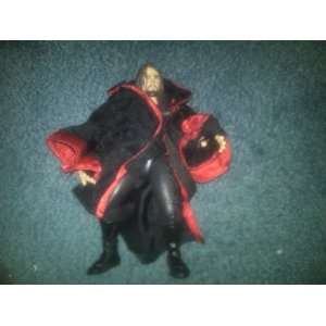WWE WWF Dead Man Undertaker Action Figure with Cloak! WCW TNA ECW TNA