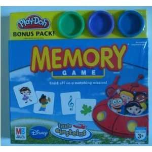 Memory Game Disney Little Einsteins with Bonus Pack Play