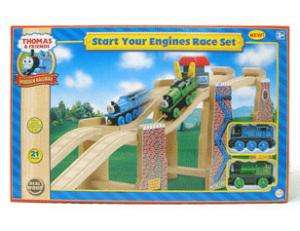 Thomas Train Start Your Engines Wooden Race Set 99570
