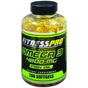 Fitness Pro Lab Omega 3, 200 Count