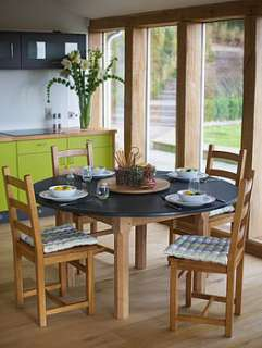 slate top farmhouse table by slate top tables