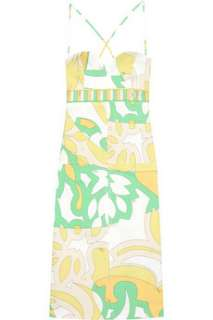 Emilio Pucci Tropical print cotton dress   65% Off Now at THE OUTNET