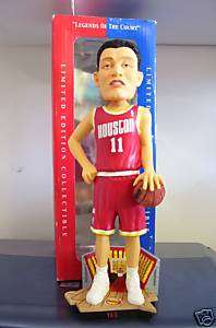 YAO MING 2003 ROOKIE Rockets Bobble Bobblehead #19/5000