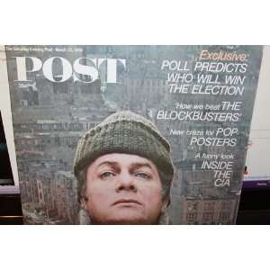 The Saturday Evening Post Magazine MARCH 23, 1968: The Saturday
