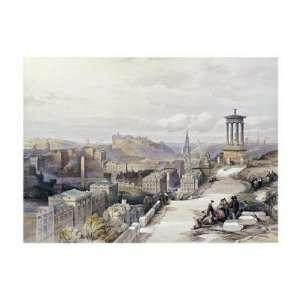 Joseph Mallord William Turner   A VIew Of Edinburgh Giclee