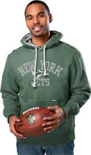 New York Jets Vintage Fleece Hooded Sweatshirt