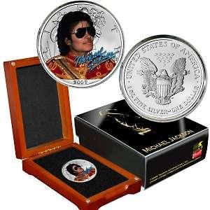 Michael Jackson Silver Eagle Dollar Coin Collection   AutoShip