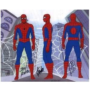 Marvel Comics Spider Man 3 Pose Model Cel