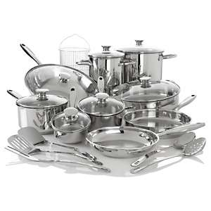Wolfgang Puck Bistro Elite 22 piece Fresh and Fast Cook Set