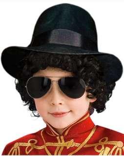 Child Michael Jackson Fedora Hat  Hats TV & Movie Halloween Costumes
