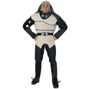 Star Trek The Next Generation Deluxe Klingon Male Adult Costume, 60281
