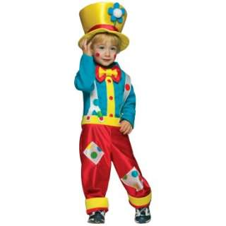 Clown Boy Infant / Toddler Costume, 62023