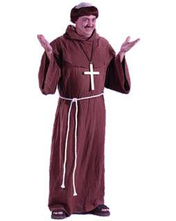 Mens Medieval Monk Costume   Mens Renaissance Halloween Costumes