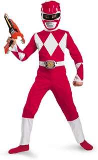 Red Ranger Classic Child 4 6