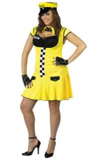 Sexy Cabbie Plus Size Costume for Halloween   Pure Costumes