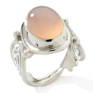 Himalayan Gems™ Oval Gemstone Sterling Silver Ring