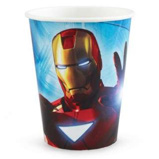 Iron Man 2   9 oz. Paper Cups   Package includes 8 paper cups.This