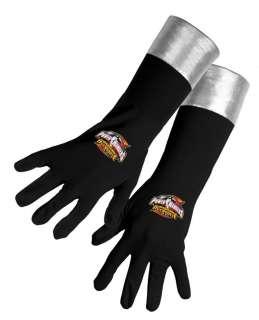 Child Black Ranger Gloves   Power Ranger style gloves have the