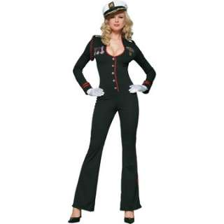 Adult Sexy Naval Suit Costume   Sexy Military Costumes   15UA83152