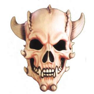 Adult Demon Skull Mask   A Halloween Demon From Hell This full over