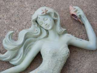 NEW Mermaid Wall Art Beach Shabby Cottage Decor |