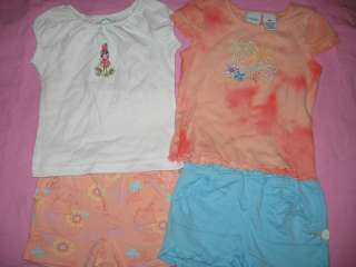 Baby Infant Toddler Girls Summer Clothes Size 18 24 mo 2T Month