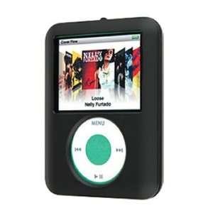 Apple iPod 3rd Generation Nano 4GB 8GB Black Rubber Coating Hard
