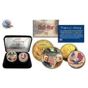 Anniversary Edition 24K Gold Plated 2 Coin Set with Box & Certificate