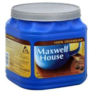 Maxwell House Coffee, Ground, 100% Colombian, Medium Dark, 31.5 Oz (1