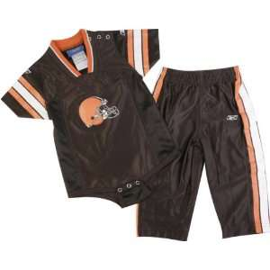 Cleveland Browns Infant Creeper Jersey and Pant Set