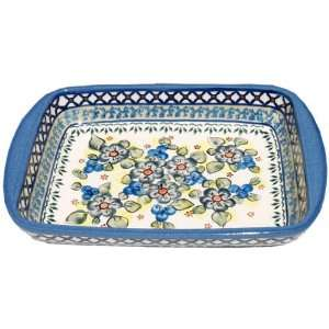 Polish Pottery Baking Dish 225 A9: Kitchen & Dining