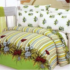 Le Vele Doga Duvet Cover Bed in Bag Full Queen Bedding Gift Set LE30Q
