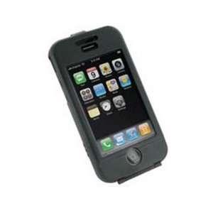 NEW MONACO BLACK ALUMINUM CASE BELT CLIP FOR APPLE iPHONE