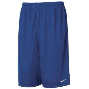 Nike Mens Team Mesh Shorts Big & Tall Royal Blue  Sports