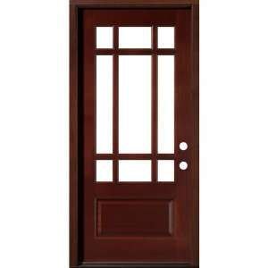 Classic Estate Doors CB73109 P CB MM LH Nine Light Door