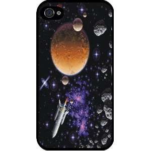 Astronomy Planets Rubber Black iphone Case (with bumper) Cover