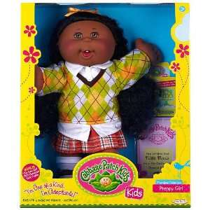 Cabbage Patch Kids Doll African American Premiere Collection Preppy