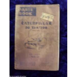 Caterpillar D8 Direct Drive OEM Parts Manual (36A1 up): Caterpillar D8