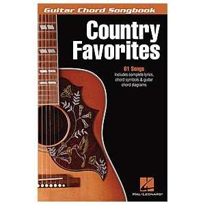 Hal Leonard Country Favorites   Guitar Chord Songbook