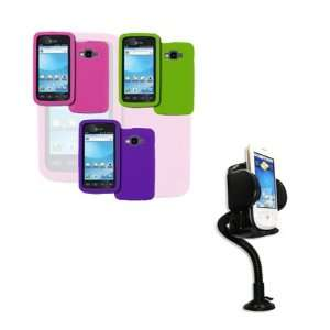 Covers (Purple, Hot Pink, Neon Green) + Car Dashboard Mount [EMPIRE