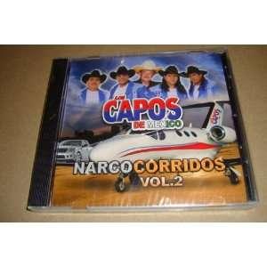 Los Capos De Mexico Narco Corridos Vol 2 Los Capos De Mexico