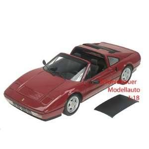 com 1988 Ferrari 328 GTS Diecast Model Red 1/18 Kyosho Toys & Games