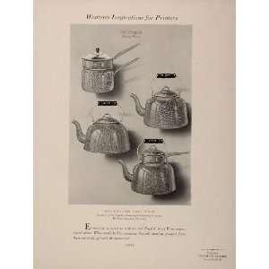 Saucepan England Drink Beverage   Original Print
