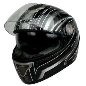 DV100 LINE Dual Visor DOT APPROVED Motorcycle Street Bike Full Face