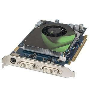 DDR3 PCI Express (PCIe) Dual DVI Video Card w/TV Out Electronics