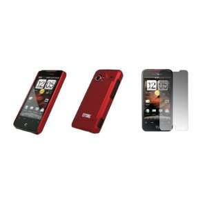 EMPIRE   HTC DROID INCREDIBLE   Premium Red Stealth Snap