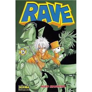 Rave Master Vol. 15 En Espanol (Spanish Edition