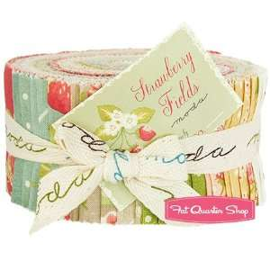 Strawberry Fields Jelly Roll   Fig Tree Quilts for Moda