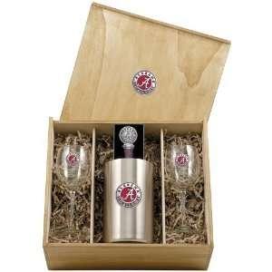 Alabama Crimson Tide Bama Wine Gift Set